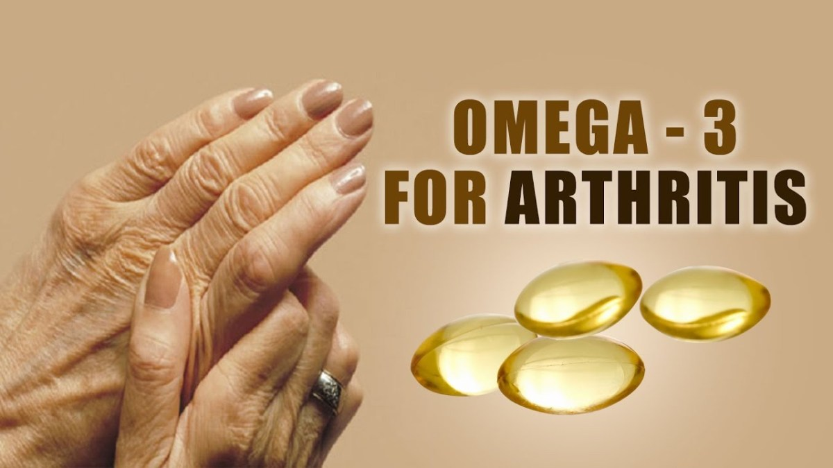 Why Omega-3 Is Good for Arthritis Pain Treatment